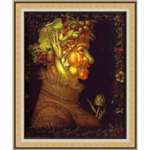 Summer by Giuseppe Arcimboldo   Framed Artwork  Home