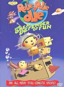Rolie Polie Olie Great Defender of Fun DVD, 2002