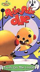 Rolie Polie Olie Tooth on the Loose VHS, 2002