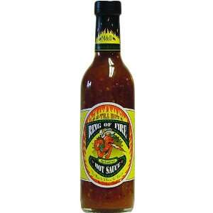 Ring of Fire Habanero Hot Sauce, 12.5 fl oz  Grocery