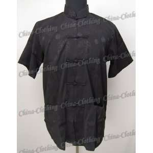 Ancient Chinese Royal Kung Fu Shirt Black Available Sizes