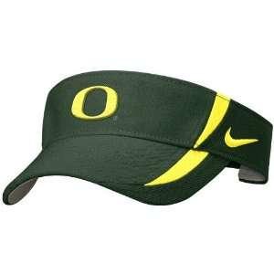 Nike Oregon Ducks Green Dri Fit Sideline Visor: Sports