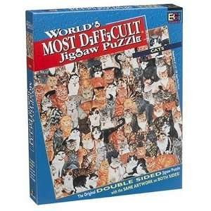 Worlds Most Difficult Jigsaw Puzzle Cats Toys & Games