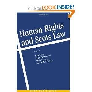 ) Chris Himsworth, Hector MacQueen, Alan Boyle, Andrea Loux Books