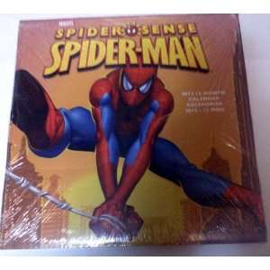 Spider Sense Spiderman 2012 Calendar Spider man