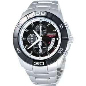 Citizen Mens AN3411 51E Silver Stainless Steel Quartz Watch