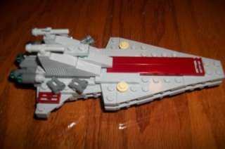 LEGO BRICKMASTER 20007 STAR WARS REPUBLIC ATTACK CRUISER DESTROYER