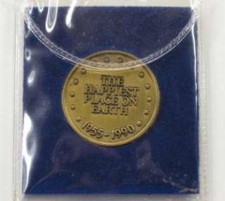 DISNEYLAND *35 Years of Magic* 1955 1990 Disney Coin ~ Sorcerer MICKEY