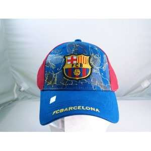 FC BARCELONA OFFICIAL TEAM LOGO CAP / HAT   FCB024 Sports