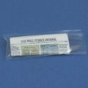 Dollhouse Miniature Wall Street Journal in Plastic Bag