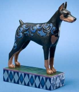 Jim Shore DOBERMAN PINSCHER Dog Standing Dobie DOGS