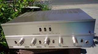 1960s REALISTIC Stereo Tube Amp SAF 24D JAPAN