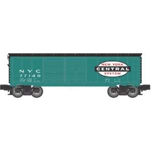 Atlas O Scale Industrial Rail Double Door Box, NYC Toys