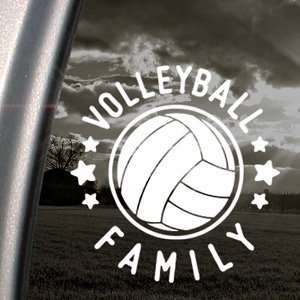 Volleyball Family Decal Car Truck Window Sticker Arts