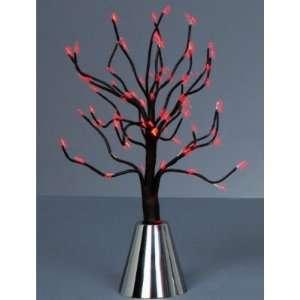 Black Pre Lit Tabletop LED Tree Light