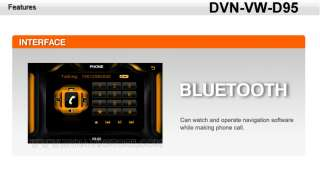 Dynavin DVN VW D95 Volkswagen VW Polo/Jetta/Caddy DVD/Navigation