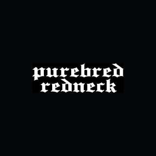 PUREBRED REDNECK Sticker Car Window Truck Vinyl Decal Funny American