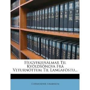 (Icelandic Edition) (9781278822761) Guðmundur Einarsson Books