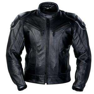 Tour Master Magnum Leather Jacket   X Large/Black