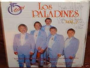 Los Paladines 15 Exitos Lp NM trio panchos