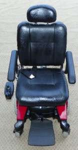 Pronto Sure Step Red Electric Wheelchair 2 NEW M&K BATTERIES/WE