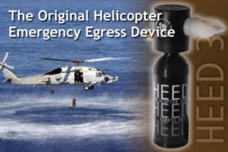 New HEED 3 Helicopter Emergency Egress Device for Pilots
