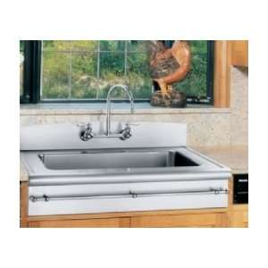 Elkay towel bar for kitchen sink A55208 Chrome Finish