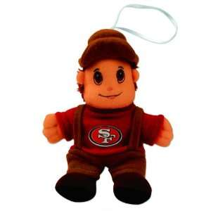 Pack of 5 NFL San Francisco 49ers Finger Puppet Christmas