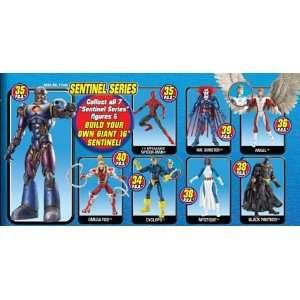 Marvel Legends Series 10 Sentinel Action Figure Set of 7