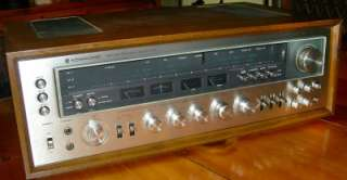 VINTAGE KENWOOD MODEL ELEVEN 11 STEREO RECEIVER CLEAN WORKS GREAT