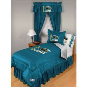 Jacksonville Jaguars NFL Locker Room Collection Complete Bedding Set