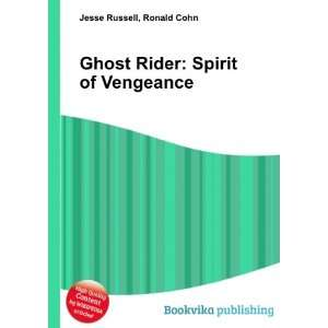 Ghost Rider Spirit of Vengeance Ronald Cohn Jesse