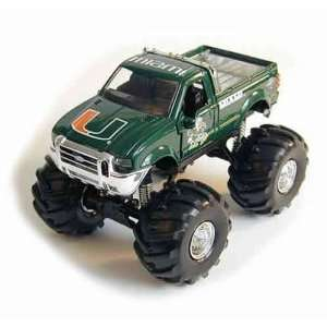 Miami Hurricanes Ford F 350 Monster Truck: Sports & Outdoors