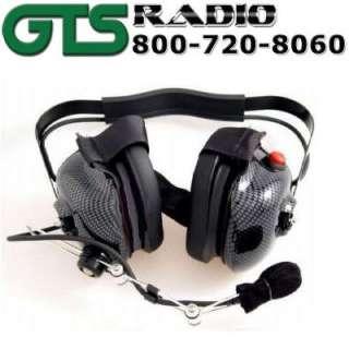 RACING RADIOS HEADSET CARBON FIBER STYLE ELECTRONICS