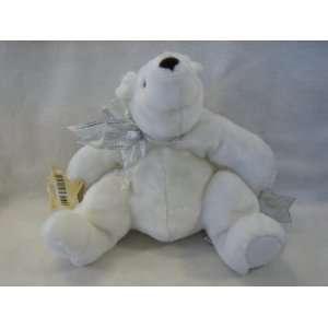 Hallmark Plush 11 Star Polar Bear with Bow Toys & Games