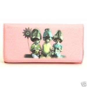 Designer Inspired Pink Wallet for Purse Bucket Handbag