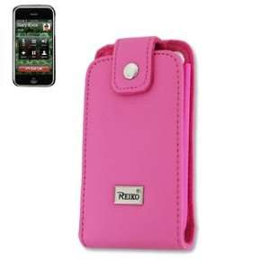 iPhone 3G Iphone3G Leather Pink Pouch Case Wallet Cover
