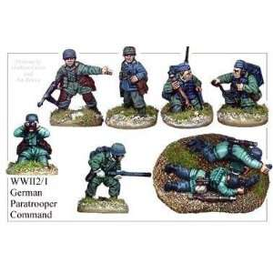28mm WW2 Second World War   German Paratroop Command Toys & Games