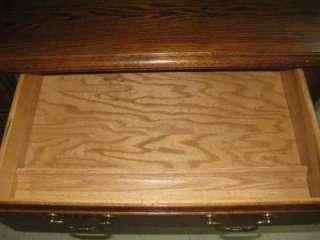 Ethan Allen Canterbury Oak Custom Room Plan CRP Computer Desk