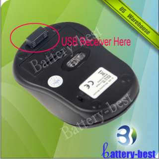 New 2.4GHz RF Wireless Optical Mouse Mice USB Receiver