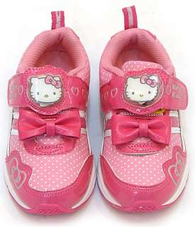 Hello Kitty Lovely Sneakers Shoes★Kids/Girls Athletic Casual Toddler