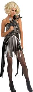 Lady Gaga Costume Star Dress XS/Extra Small   2 to 6