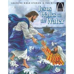 Jesus Walks on the Water (9780758608642) Books
