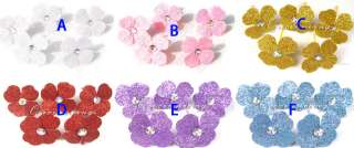 Beautiful Bride flower head Hair Accessories 6 Colors