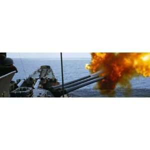 National Geographic 16 Inch Guns Fire Rear Window Decal Automotive