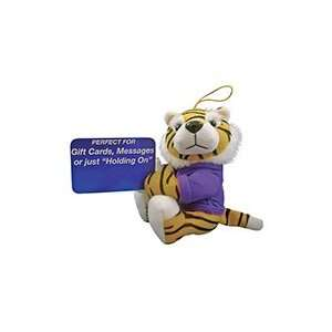 LSU Tigers NCAA Huggie Mascot Plush: Sports & Outdoors
