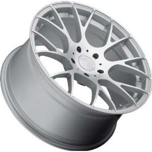 Concept One 787 C 8 Silver Machined Wheel with Painted Finish (18x8
