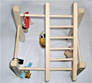 Bird play stand play gym for parakeets love birds tiels