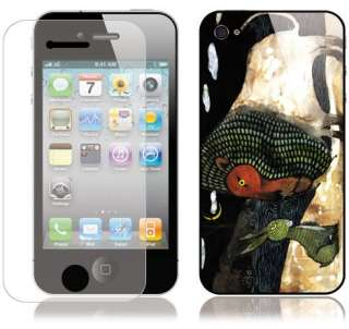 iPhone4 ART SKIN Cover decal 3M Sticker RAPUNZEL