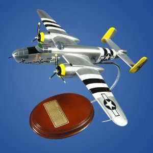 B 25 Mitchell Executive Sweet Desktop Wood Model Plane